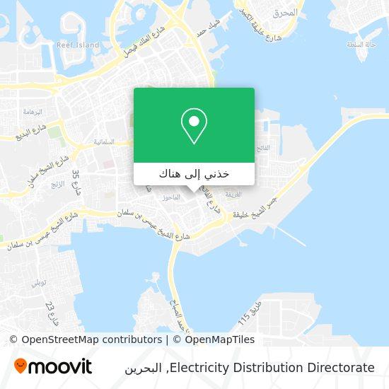 خريطة Electricity Distribution Directorate