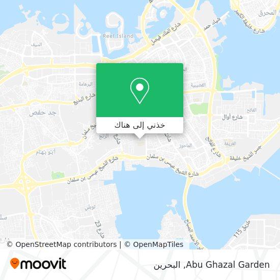 خريطة Abu Ghazal Garden