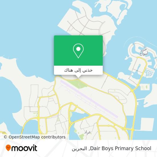 خريطة Dair Boys Primary School