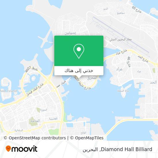 خريطة Diamond Hall Billiard