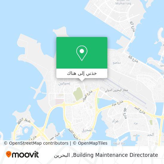 خريطة Building Maintenance Directorate