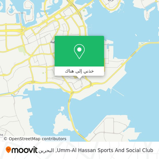 خريطة Umm-Al Hassan Sports And Social Club