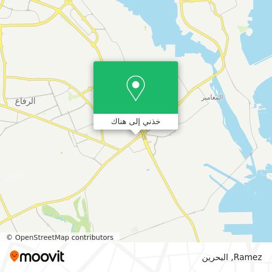 خريطة Ramez