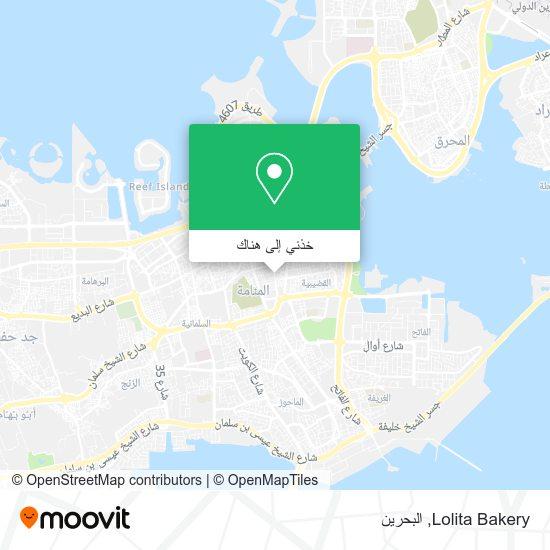 خريطة Lolita Bakery
