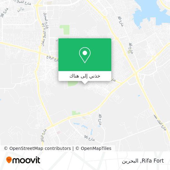 خريطة Rifa Fort