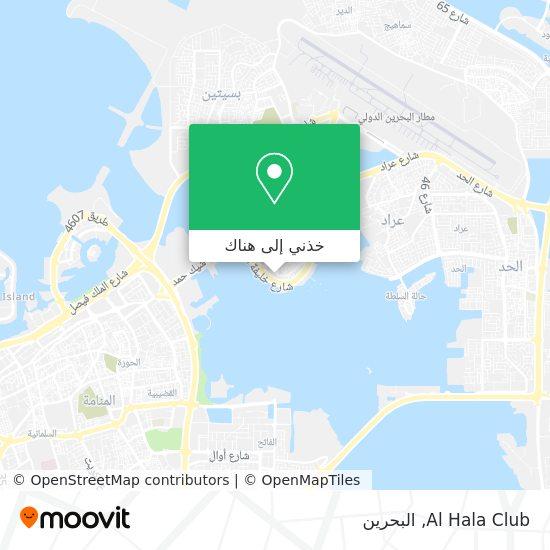 خريطة Al Hala Club