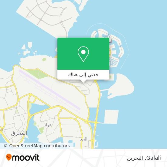 خريطة Galali