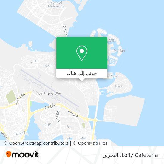 خريطة Lolly Cafeteria