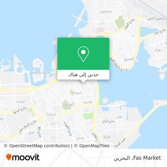 خريطة Fas Market
