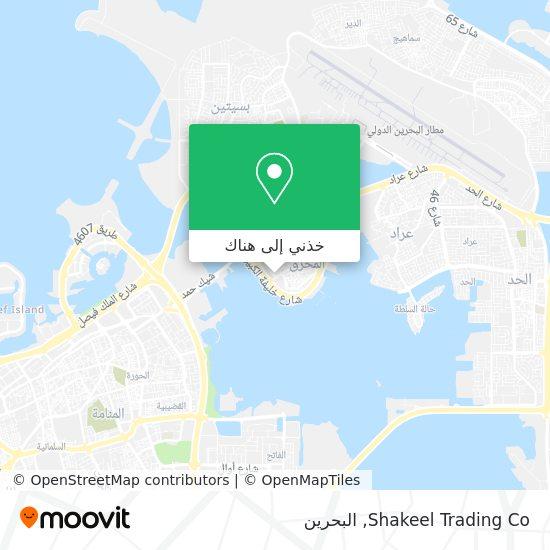 خريطة Shakeel Trading Co