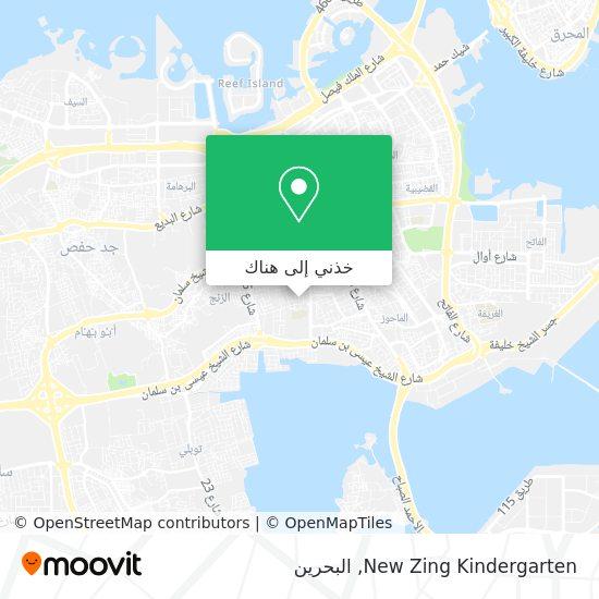 خريطة New Zing Kindergarten