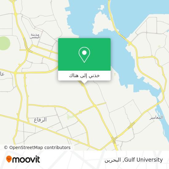خريطة Gulf University