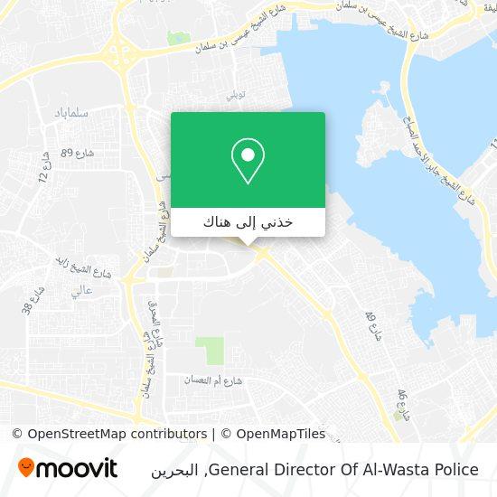 خريطة General Director Of Al-Wasta Police