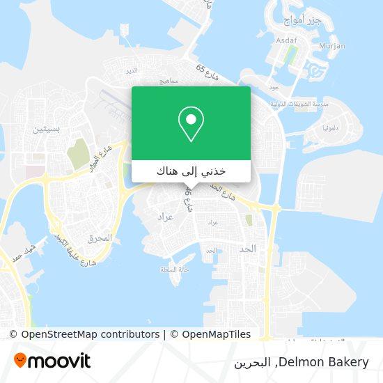 خريطة Delmon Bakery