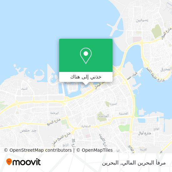 خريطة Bahrain Financial Harbor