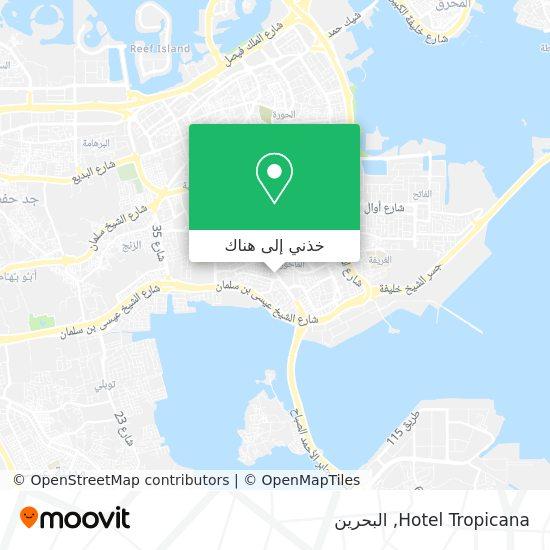 خريطة Hotel Tropicana