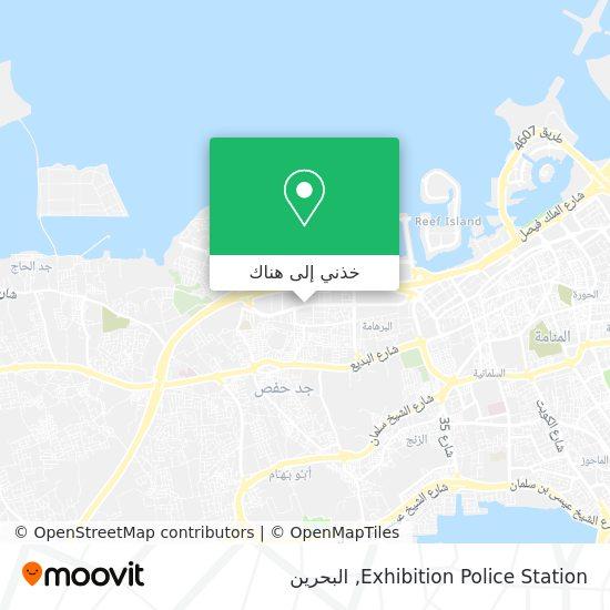 خريطة Exhibition Police Station