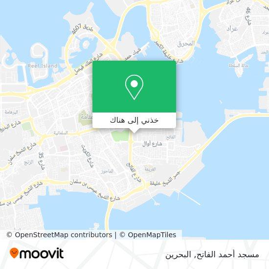 خريطة Al Fateh Grand Mosque