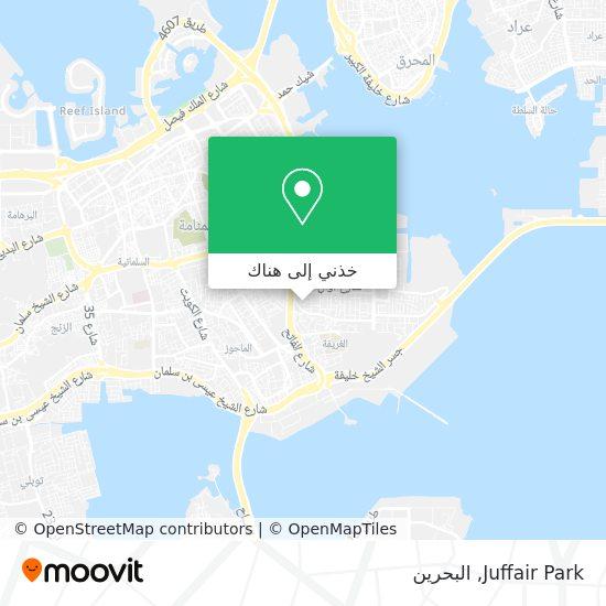 خريطة Juffair Park