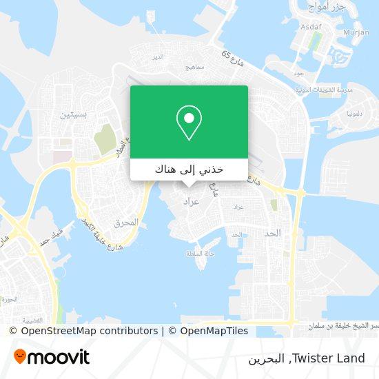 خريطة Twister Land