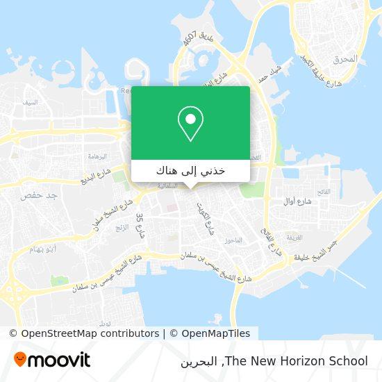 خريطة The New Horizon School