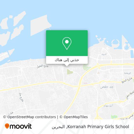 خريطة Korranah Primary Girls School