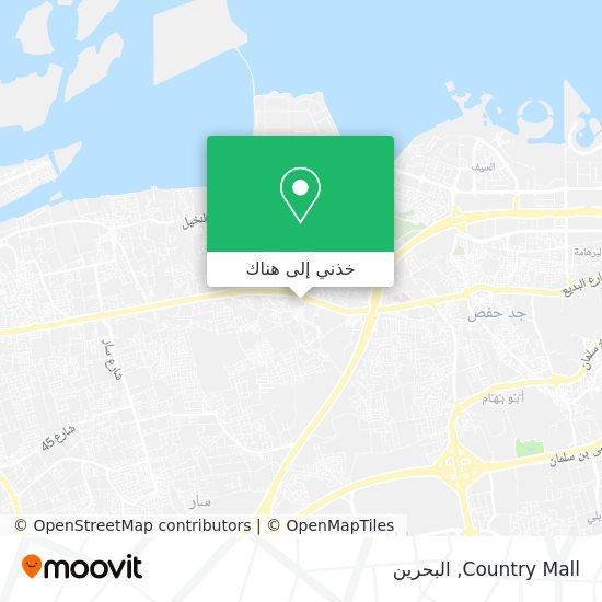 خريطة Country Mall