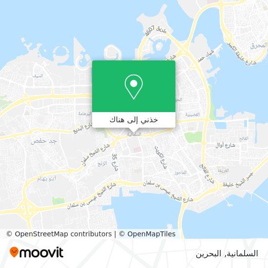 خريطة Al Salmaniya
