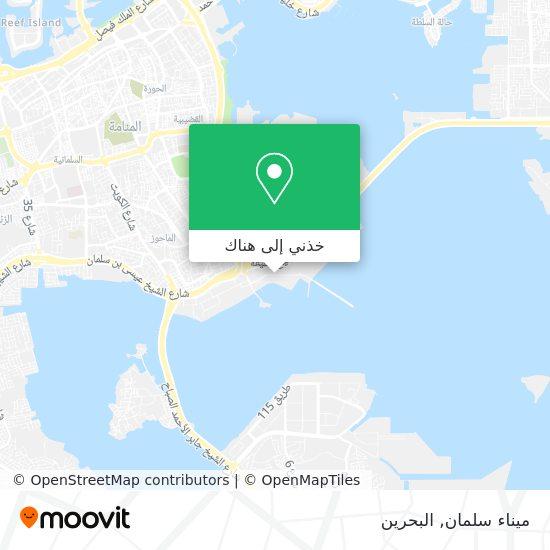 خريطة Mina Salman