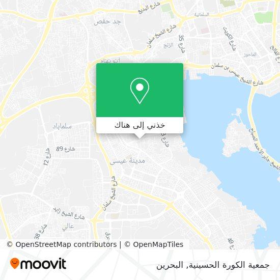 خريطة Al-Kawara Husainiya Society, جمعية الكورة الحسينية