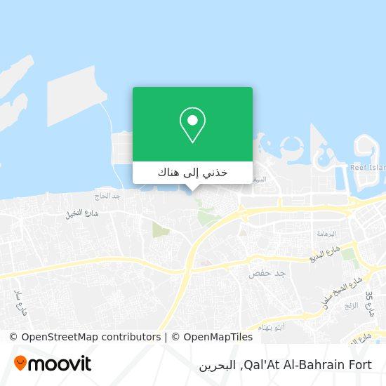 خريطة Qal'At Al-Bahrain Fort
