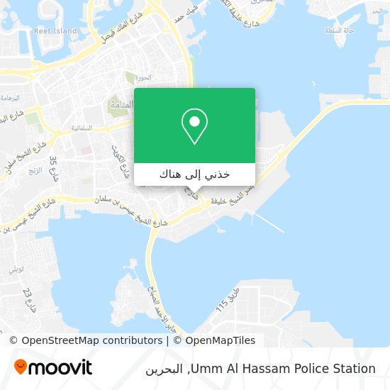 خريطة Um Al Hassam Police Station