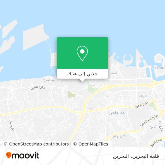 خريطة Qal'At Al-Bahrain