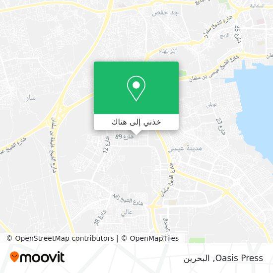 خريطة Oasis Press