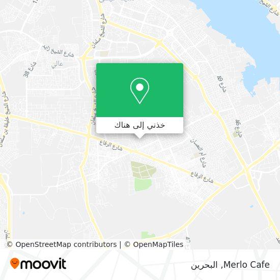 خريطة Merlo Cafe