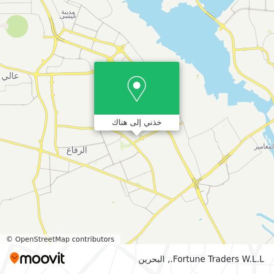 خريطة Fortune Traders W.L.L.