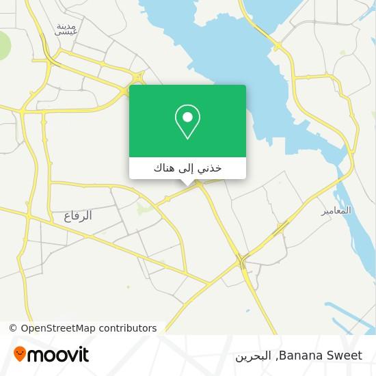خريطة Banana Sweet