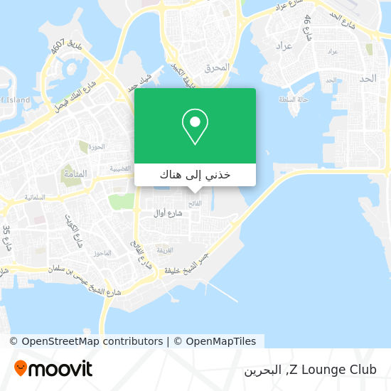 خريطة Z Lounge Club