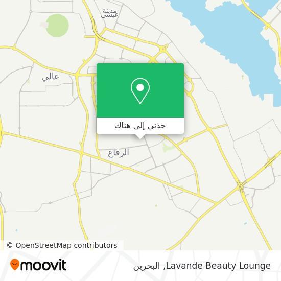 خريطة Lavande Beauty Lounge