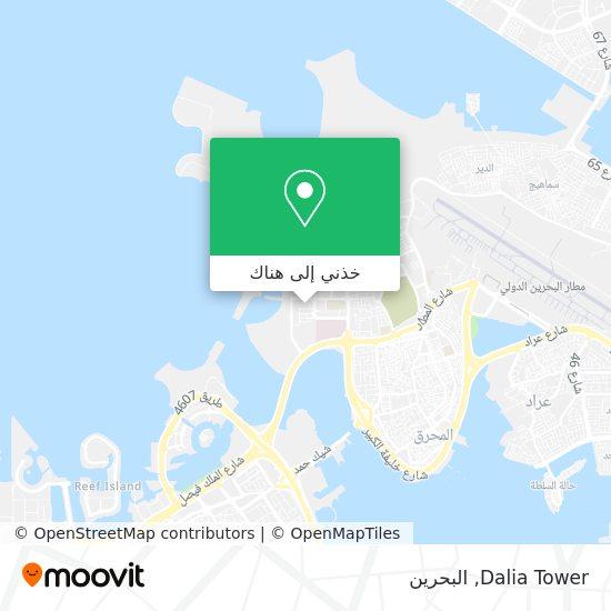 خريطة Dalia Tower