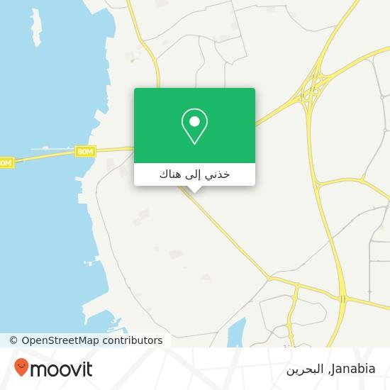 خريطة Janabia
