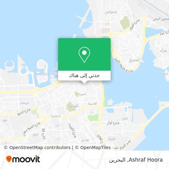 خريطة Ashraf Hoora