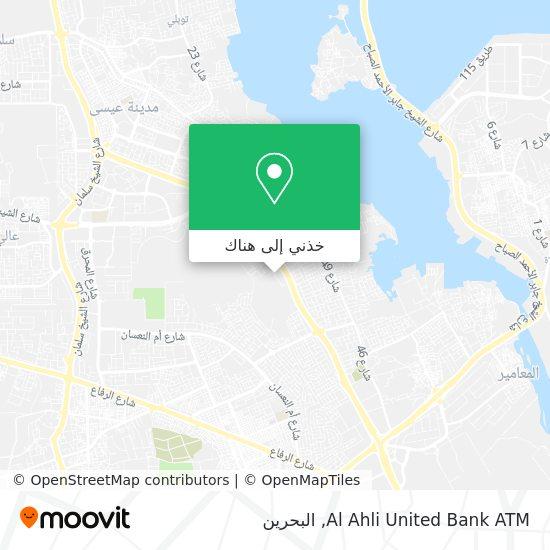 خريطة Al Ahli United Bank ATM