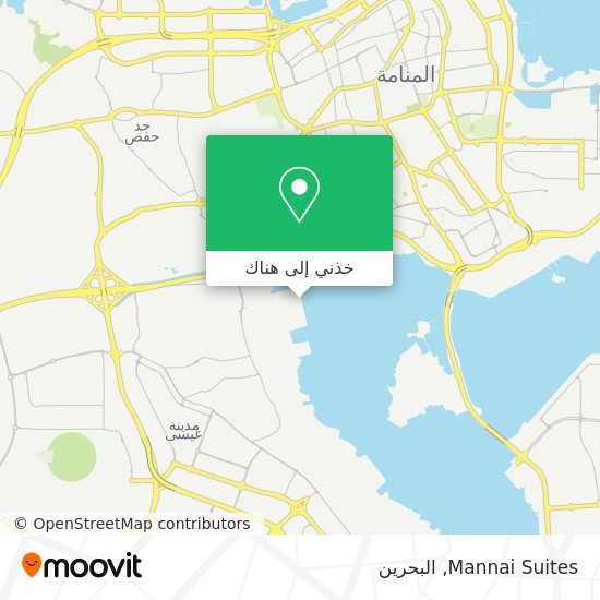 خريطة Mannai Suites