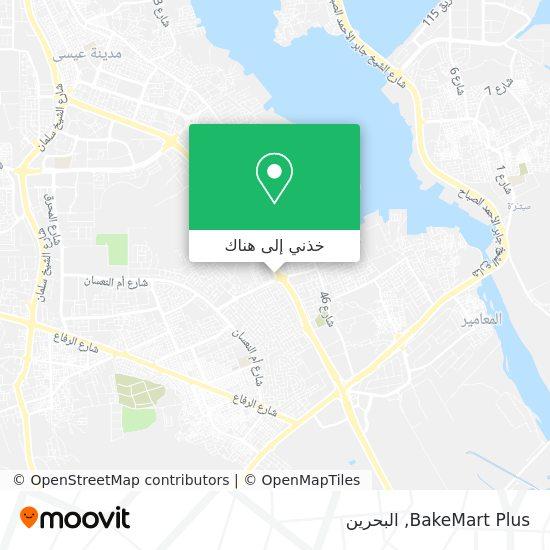 خريطة BakeMart Plus