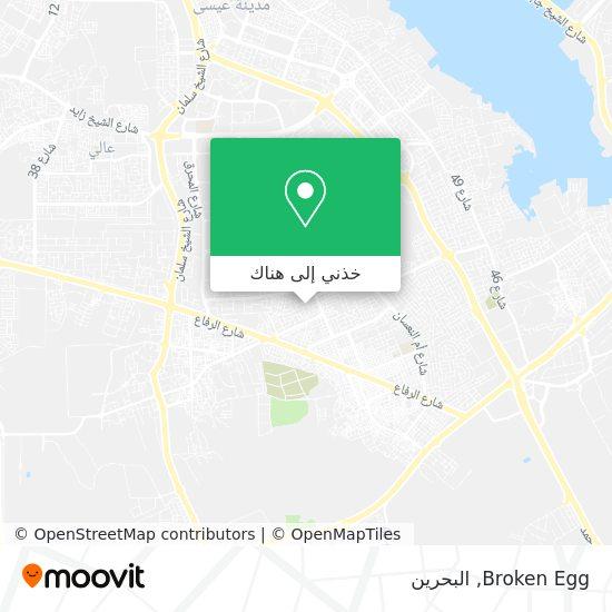 خريطة Broken Egg