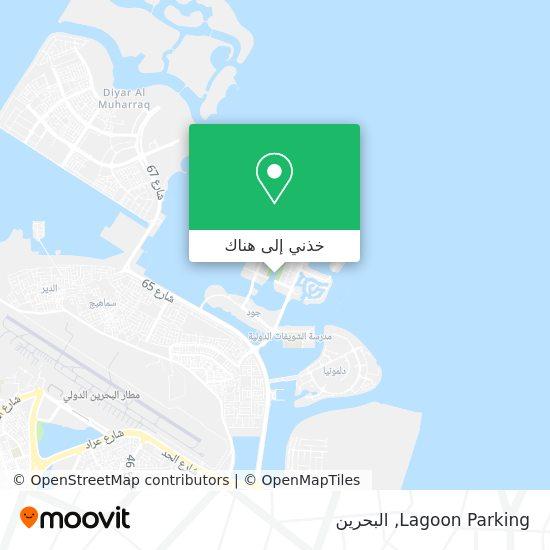 خريطة Lagoon Parking