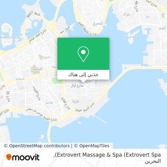 خريطة Extrovert Massage & Spa (Extrovert Spa)