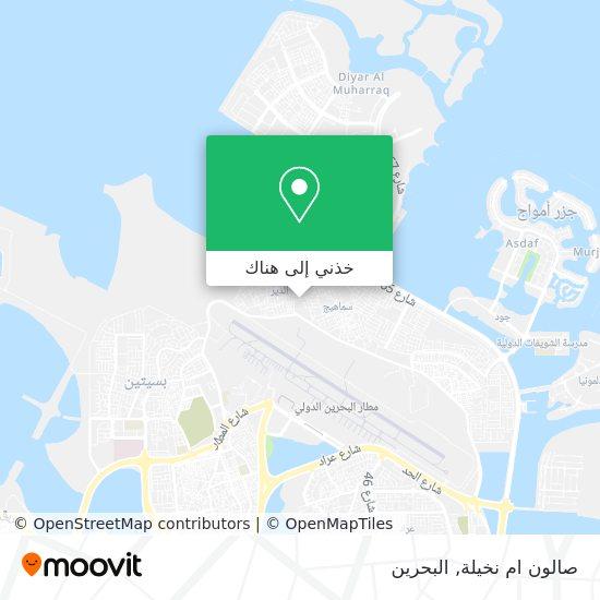 خريطة صالون ام نخيلة