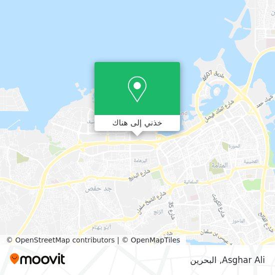 خريطة Asghar Ali